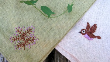 Embroidered Napkins 2