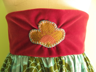 Fun Medallion Skirt Close-Up
