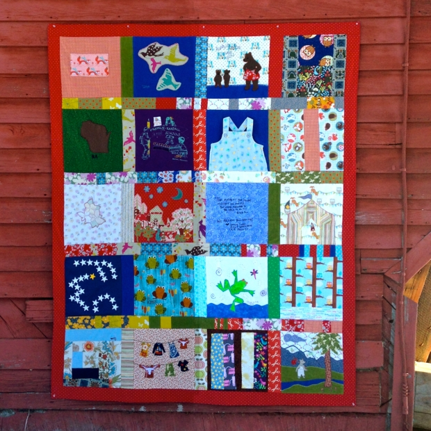 Quilt in its Entirity