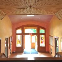 Lazure Painting: Entrance to Hawthorne Valley Waldorf School